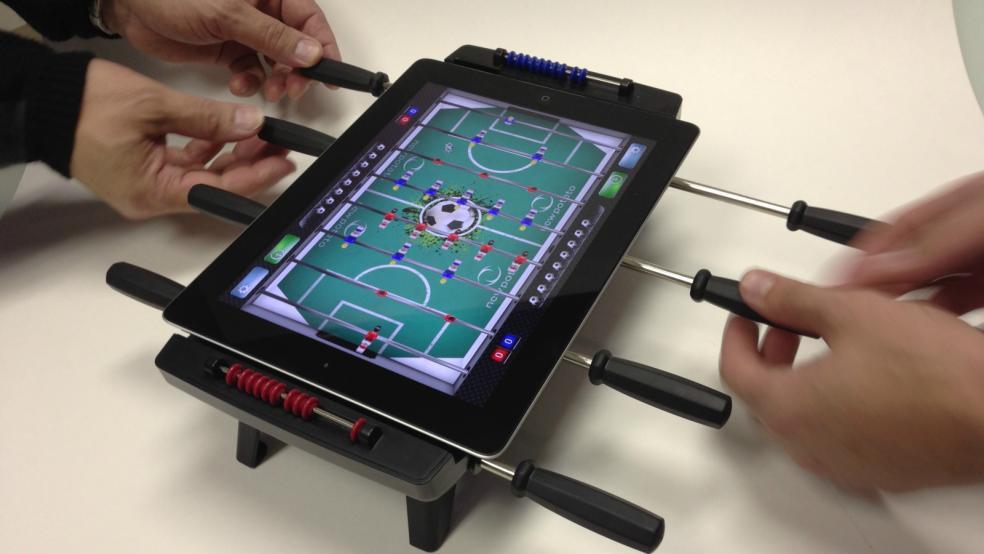 Best Soccer Gifts: iPad Foosball