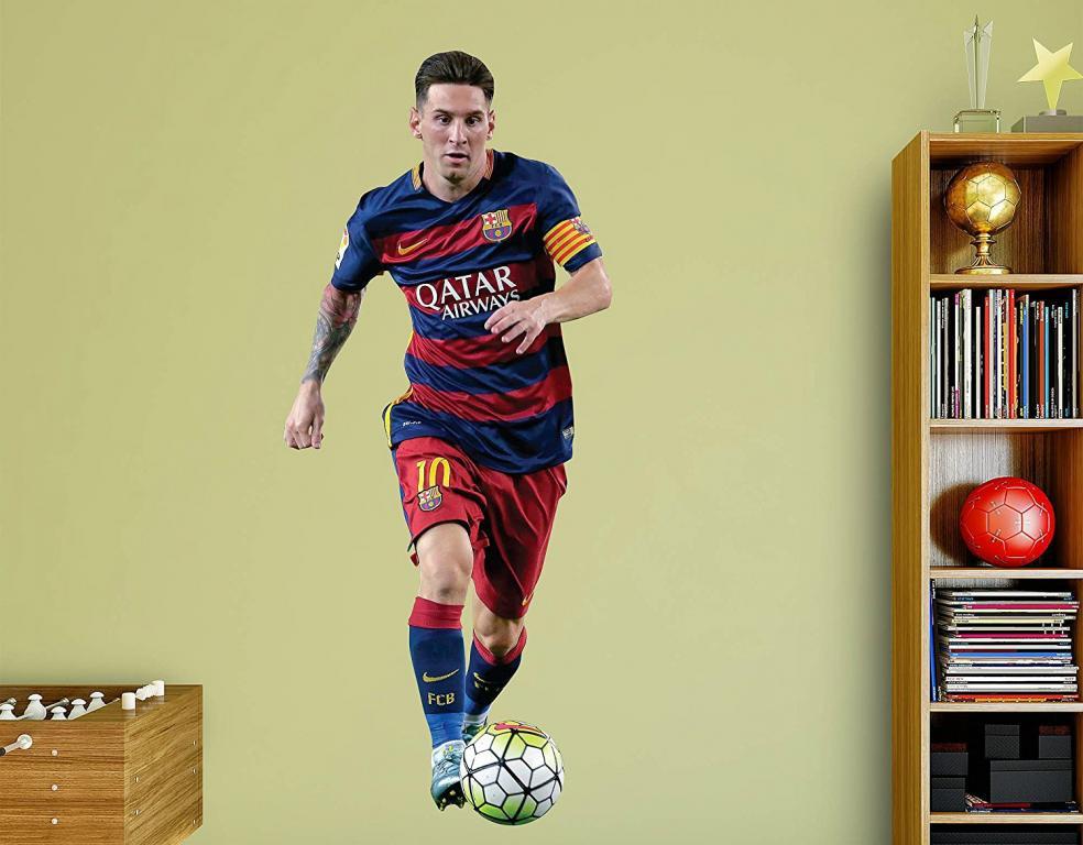 Last Minute Soccer Gifts Amazon Prime: Messi Fathead