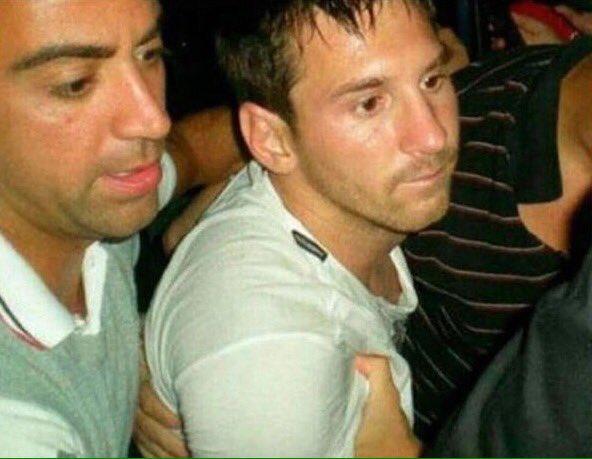 Messi Drunk