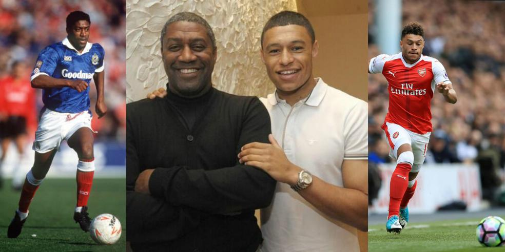 Mark Chamberlain and Alex Oxlade-Chamberlain