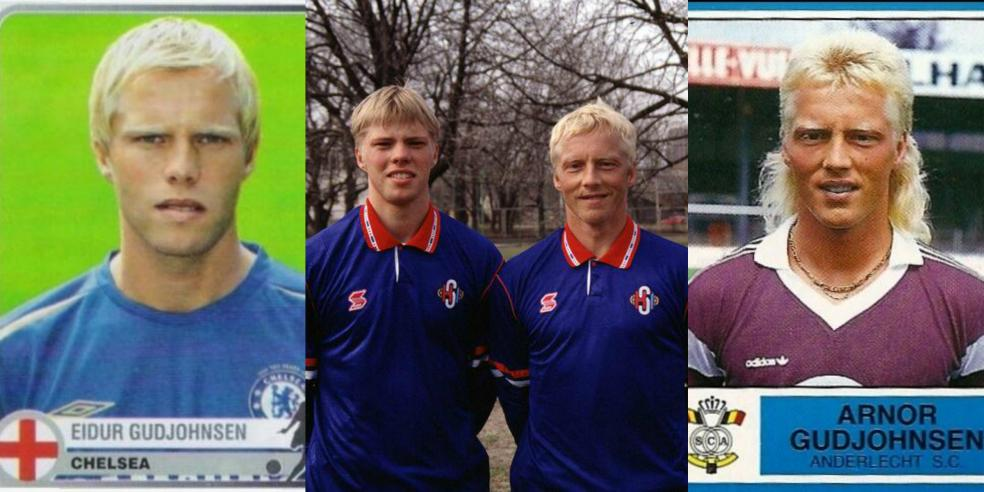Arnor Gudjohnsen and Eidur Gudjohnsen
