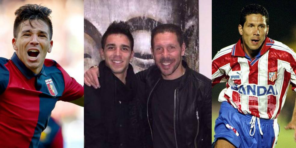 Diego Simeone and Giovanni Simeone