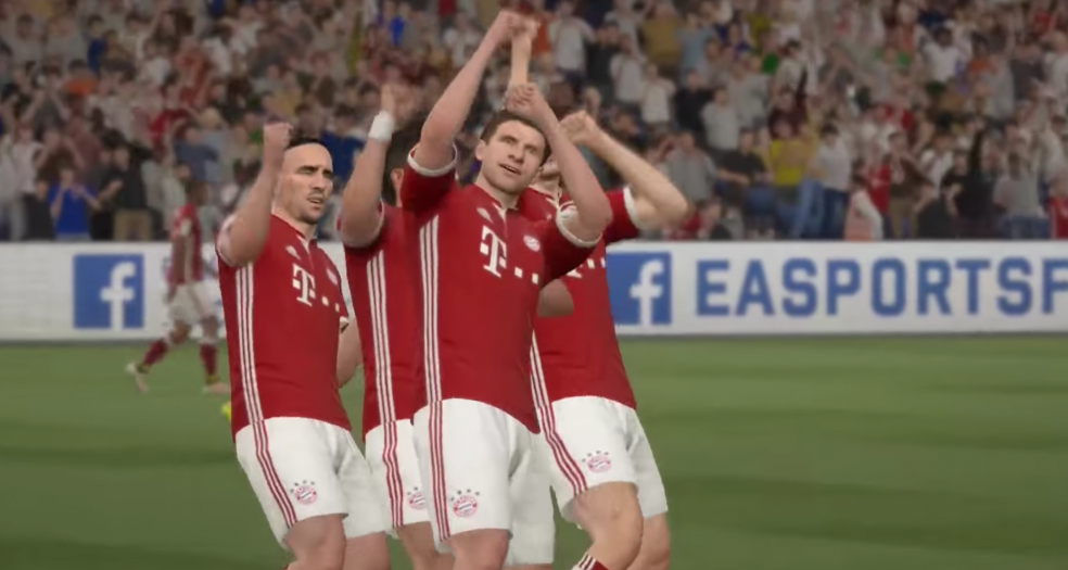 Best Fifa 17 Celebrations - Bayern Munich Celebration