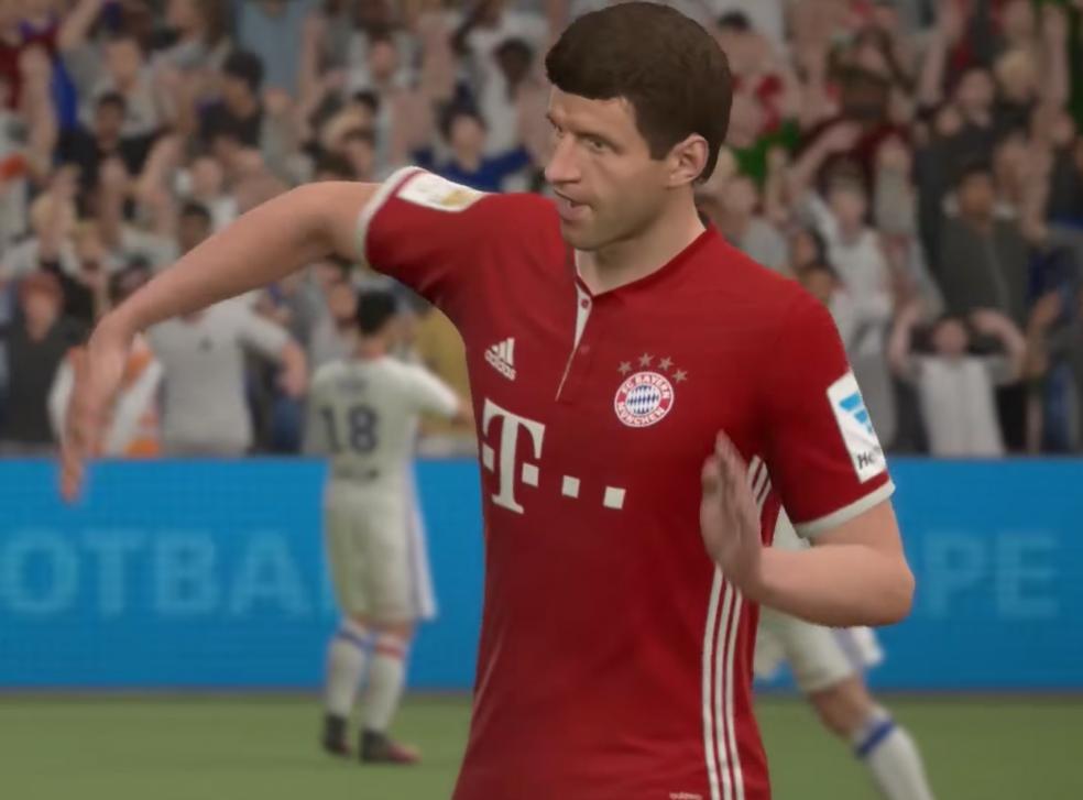 Best Fifa 17 Celebrations - Thomas Muller Celebration