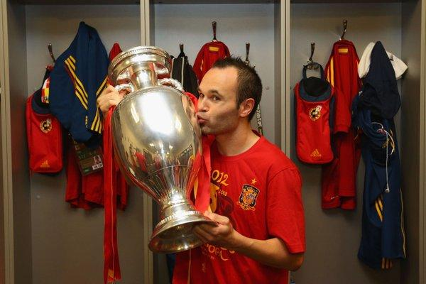 Soccer Players With Most Trophies - Andres Iniesta
