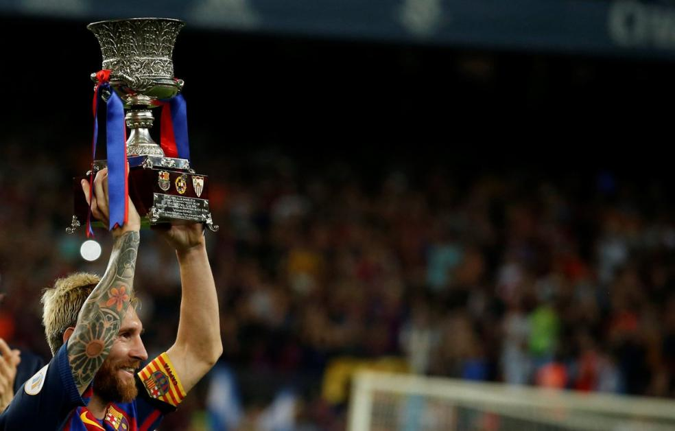 Soccer Players With Most Trophies - Lionel Messi