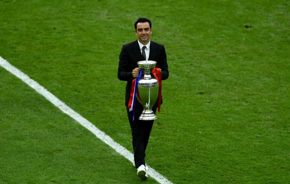 Soccer Players With Most Trophies - Xavi Hernandez