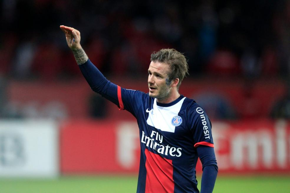 Footballers With The Most Social Media Followers - David Beckham