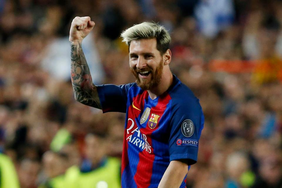 Footballers With The Most Social Media Followers - Lionel Messi
