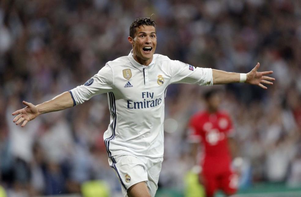 Footballers With The Most Social Media Followers - Cristiano Ronaldo