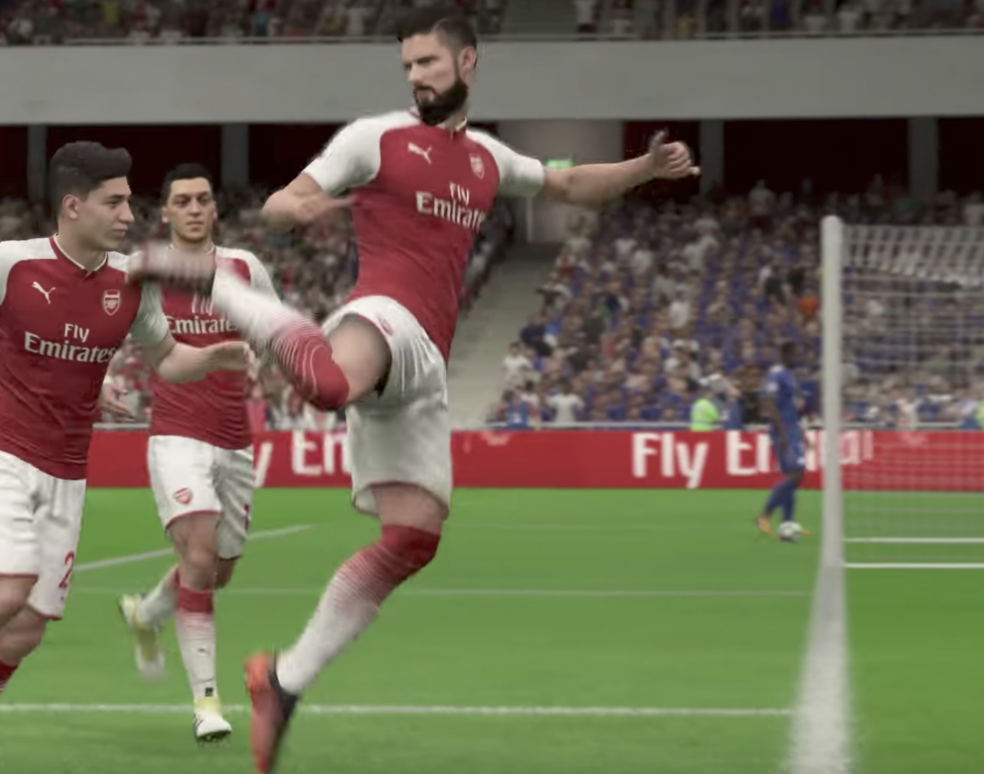 New FIFA 18 Celebrations - Scorpion Celebration