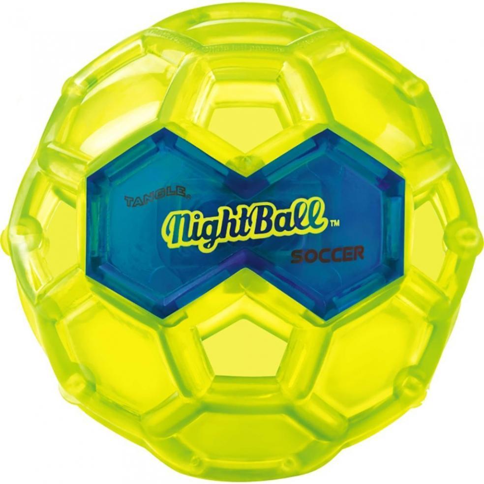 Best Soccer Gifts Online - Tangle NightBall Glow in the Dark Light Up LED Soccer Ball