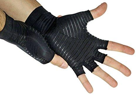 Best Gifts For Gamers - Copper Compression Carpal Tunnel Gloves