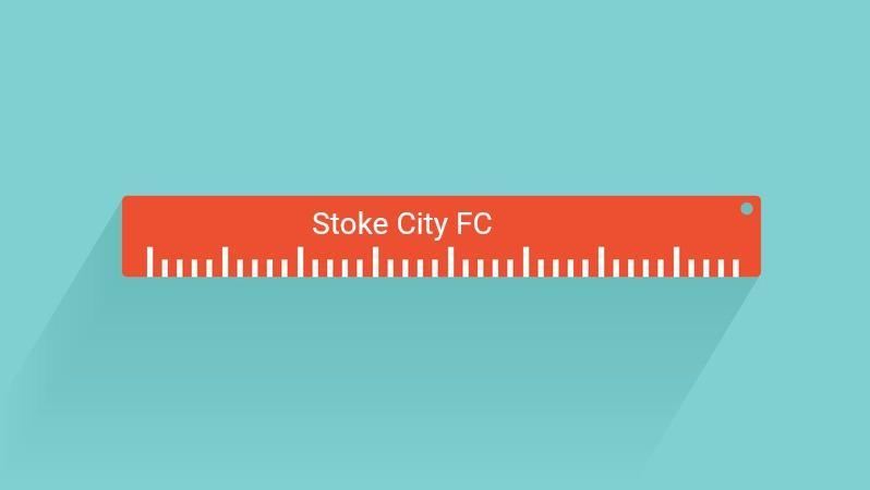 funniest soccer gifts - Stoke City Ruler