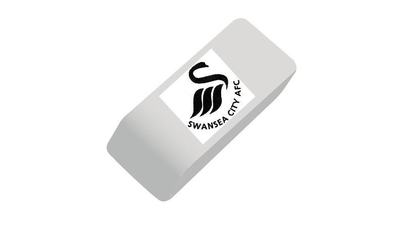funniest soccer gifts - Swansea City eraser