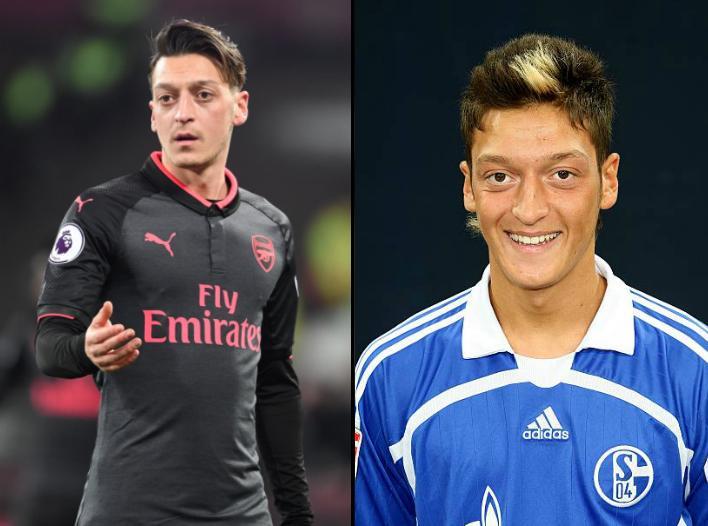 Mesut Ozil in 2017 vs 2007