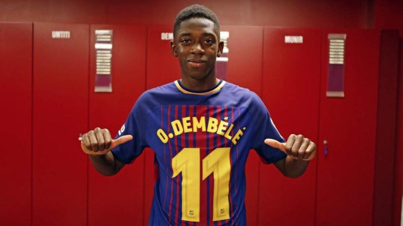 Dembele signs for Barcelona