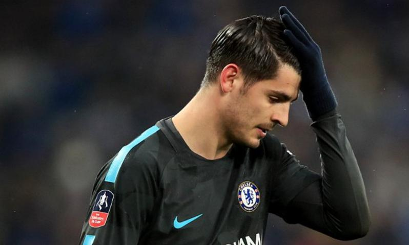 Morata disappointed