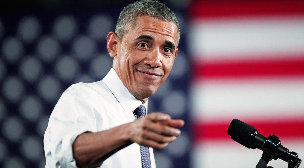 Celebrity Soccer Fans - Barack Obama