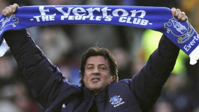Celebrity Soccer Fans - Sylvester Stallone
