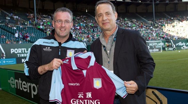 Celebrity Soccer Fans - Tom Hanks