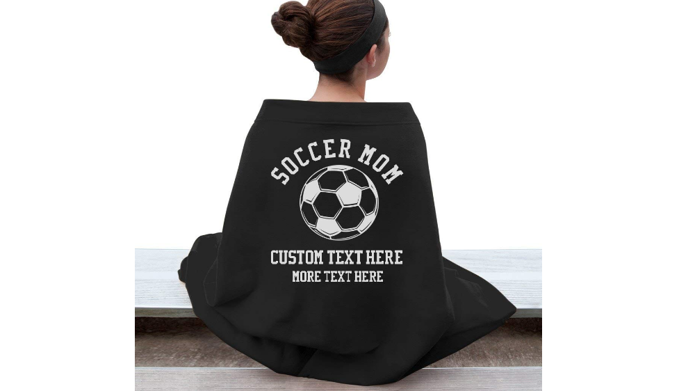 Best Soccer Gifts For Women — Soccer Mom Blanket
