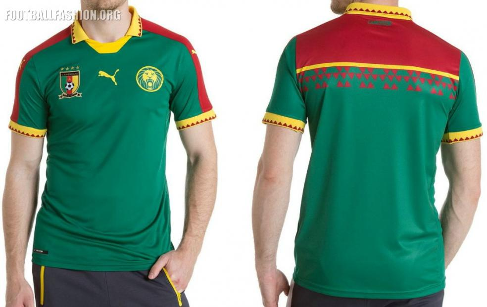 Cameroon home jersey