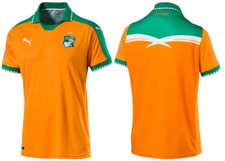 Ivory Coast home jersey
