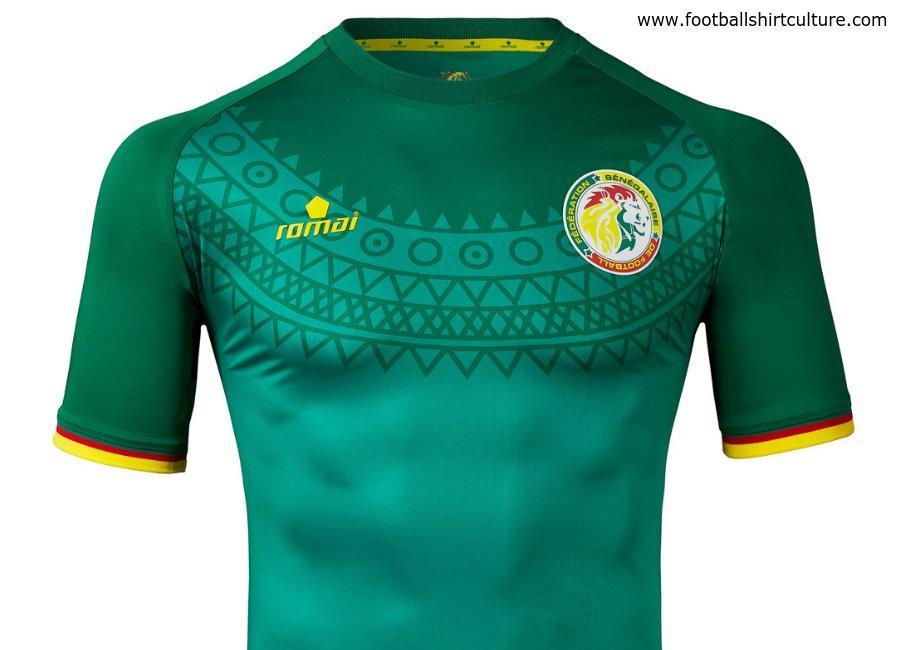 Senegal home jersey