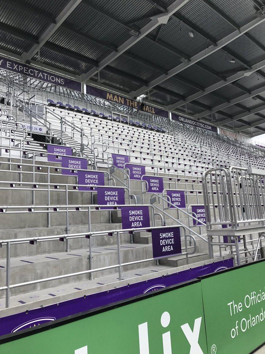 Orlando City's Supporters Wall