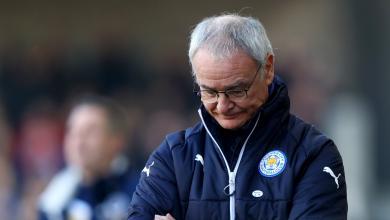 Saddness Expressed by Claudio Ranieri