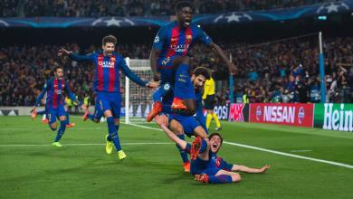 Sergi Roberto Scores Against PSG In The Champions League