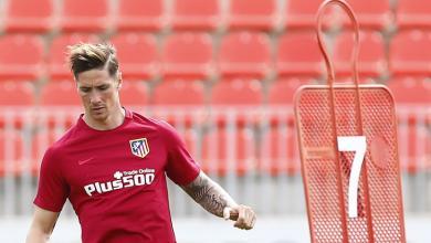 Fernando Torres Back In Training