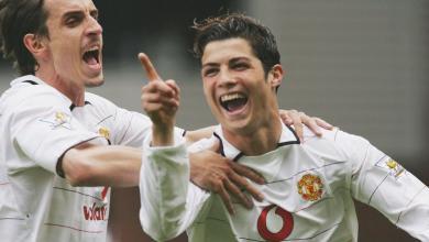 Gary Neville Cristiano Ronaldo Manchester United