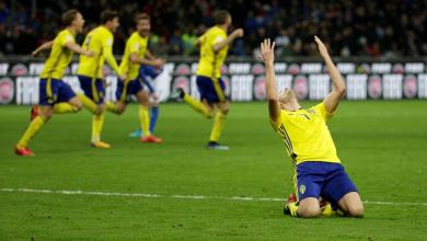 Sweden Qualify For The 2018 World Cup