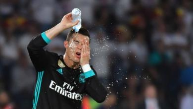 Cristiano Ronaldo Water Bottle