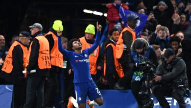 Willian Goal Celebration vs Barcelona