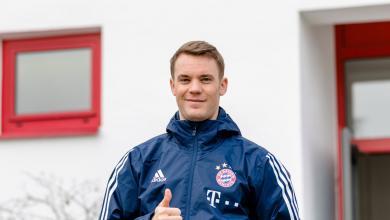 Manuel Neuer Back In Training