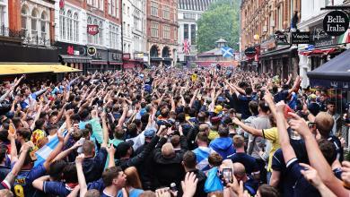 Scotland fans in London