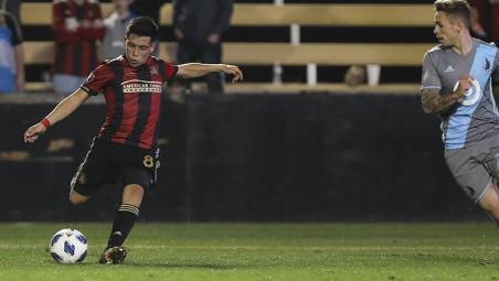 Ezequiel Barco Atlanta United goal