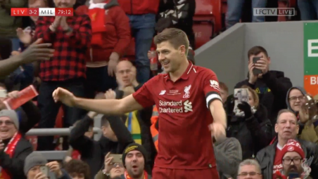 Liverpool vs AC Milan Legends Highlights