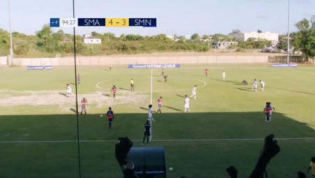 Saint Martin vs Sint Maarten National Team
