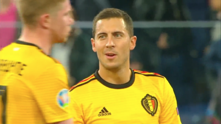 Eden Hazard vs Russia