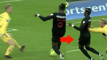 Mesut Ozil bounce