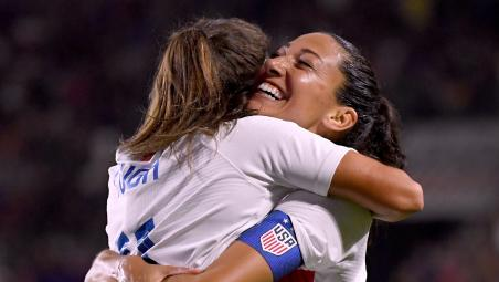 Christen Press goal vs Spain