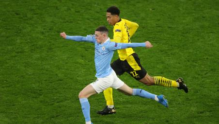 Phil Foden and Jude Bellingham