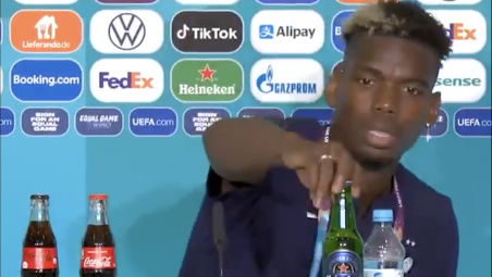 Paul Pogba Says No Heineken