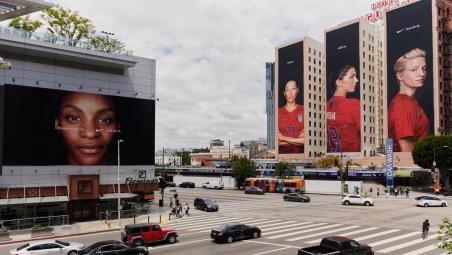 USWNT billboard