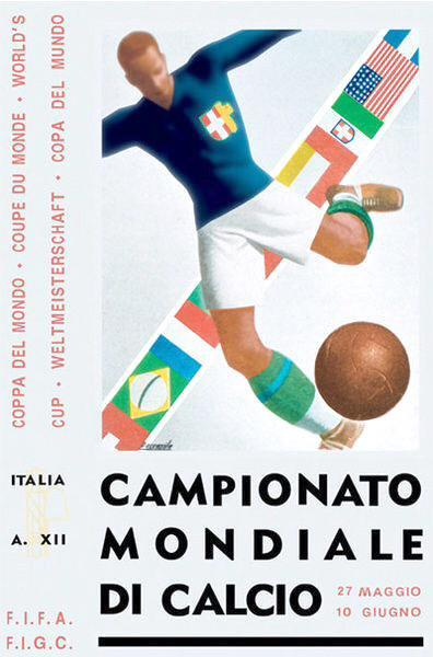 1934 World Cup poster