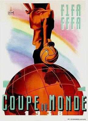1938 World Cup poster
